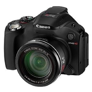 Canon Powershot SX40 HS - Cámara digital 12.1 Megapíxeles [importado]