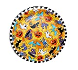 "Halloween ""Creepy Characters"" Paper Plates (8 3/4"") - 8 cnt"