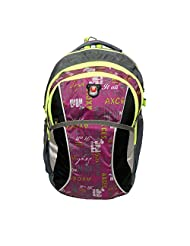 Donex Trendy Light Weight 27 L School/College Backpack Multi