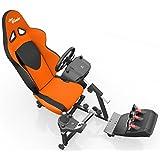 Openwheeler Racing Wheel Stand Cockpit Orange/Black   For Logitech G29   G920 And Logitech G27   G25   Thrustmaster...