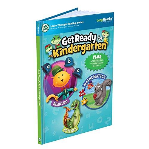 LeapFrog LeapReader Book Get Ready For Kindergarten Works With Tag