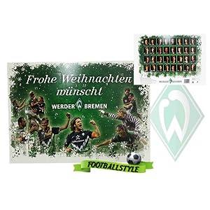 Bei amazon: SV Werder Bremen Advenstkalender 2010 für 8 € inkl. VSK !