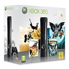 Microsoft XBOX 360 Elite mit drei Spielen für 249 € bei Gamestop
