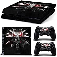 Elton The-Witcher 3 - Logo Theme 3M Skin Sticker Cover For Ps4 Console And Controllers