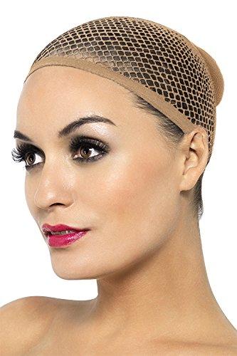 Fever Women's Mesh Wig Cap, Beige, 12 pack