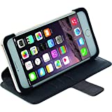 Krusell Malmo FlipCase Stand For Apple IPhone 6 Plus - Carrying Case - Retail Packaging - Black
