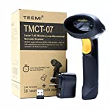 Teemi 2.4GHZ Cordless Handheld USB Automatic Laser Barcode Scanner