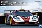 AOSHIMA 1/24 McLaren F1 GTR Longtail 1998 Le Mans 24H #40 SUPER CAR Series No.20 Overseas Edition (Japan Import)