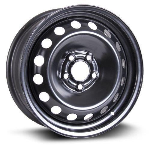 Steel Rim 16X6, 5X108, 65.1, +43, black finish (MULTI APPLICATION FITMENT) X40837