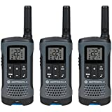 Talkabout T200 FRS/GMRS Two-Way Radios (3-Pack, Gray) With Free 6 Feet NETCNA HDMI Cable - BY NETCNA
