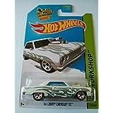 2014 Hot Wheels Hw Workshop 64 Chevy Chevelle SS - White