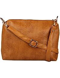 Speed X Fashion Women's Sling Bag (Brown, Sxf6)