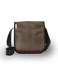 Atrangee Red Bohemian City Sling Bag