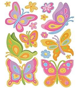 15 tlg. Set Wandtattoo / Sticker - Schmetterlinge und