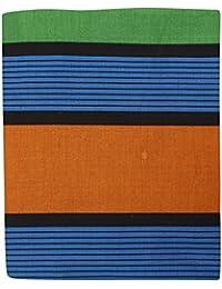 Manimegalai Tex 100% Silk Cotton Srilankan Sarong Dhoti (Blue, 8 Meter)