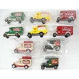 Coca-Cola Truck Set - Mexican Set Of Coke Trucks - FREE Shipping