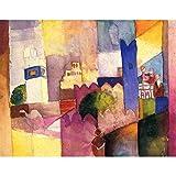 Art Panel - Kairouan By Macke