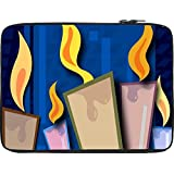 Snoogg Candles Light 2454 12 To 12.6 Inch Laptop Netbook Notebook Slipcase Sleeve