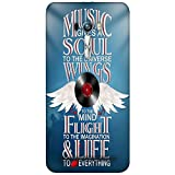 Snoogg Music Typography 2886 Designer Protective Back Case Cover For Asus Zenfone Selfie ZD551KL Dual Sim