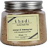 Khadi Herbal Bath Salt(Rose And Geranium) 200 Gm