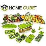 HOME CUBE (TM) Nicer Dicer Plus Multi Chopper Vegetable Cutter Fruit Slicer