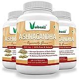Vubasil Ashwagandha - 800Mg - General Wellness Herbs 60 Veg Capsules (Pack Of 3)