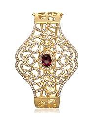 Eclat Brass Gold Plated Bracelet For Women New Fashion Jewelry (811493GRAM)