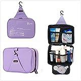 Onor Tech Portable Multi Functional Waterproof Travel Toiletry Wash Cosmetic Bag Makeup Storage Case Hanging Grooming...