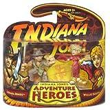 Indiana Jones Adventure Heroes - Indiana Jones and Willie Scott