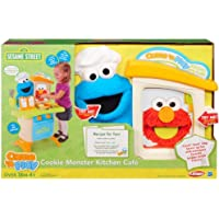 Sesame Street Playskool Come N Play Cookie Monster Kitchen Cafe Play Set {Age: 18 Months And Up}