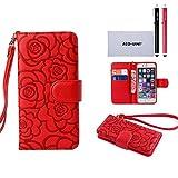 Samsung Galaxy S6 Case Wallet, ACO-UINT Galaxy S6 Wallet Case **Premium** Protective Flip Folio PU Leather Wallet...