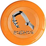 WG Brand Orange, One Size : WG Unisex OW Roadhog OverRoadhog Watch Video Game Character Weapon Logo Outdoor Game Frisbee Ultra Star Yellow