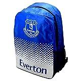 Everton FC Football Team Adjustable Fade Zip Bag Backpack