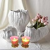 Beautiful Tea Light Candle Holder For Home Decor Set Of 2