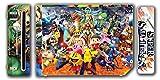 Super Smash Bros Melee Brawl Mario Pikachu Yoshi Mega Man Zelda Sonic Metroid Fire Emblem Video Game Vinyl Decal Skin Sticker Cover for the Nintendo Wii System Console