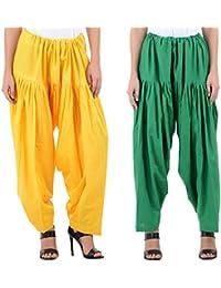 Ekam Art Women's Cotton Patiala Bottoms - B01JT6RAEY