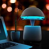 IMINOVO Magic Mushroom Mood Light Bluetooth Speaker USB Cellphone Charger Table Lamp With 256 Living Colors Changes... - B016WPKENO