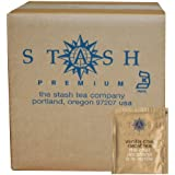 Stash Tea Decaf Vanilla Chai Black Tea, 100 Count Box Of Tea Bags In Foil