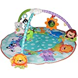 Olly Polly Kids Imported High Quality Musical Baby Gym, Multi Color Gift Toy