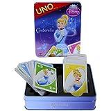 Cinderella Disney Princess UNO Card Game In Colorful Collectors Tin