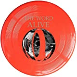 WG Brand Red, One Size : WG Unisex The W Alive American Metalcore Band DARK MATTER Outdoor Game Frisbee Game Room Yellow