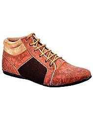 Aureno Men's Synthetic Sneakers - B011BGF7CM