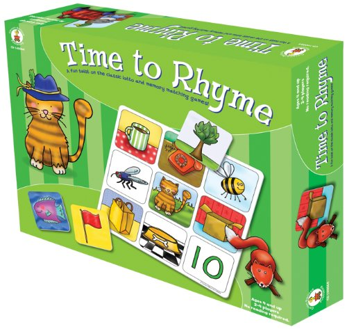 Carson-Dellosa Publishing Time to Rhyme