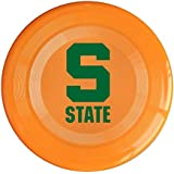 Orange, One Size : XJBD Unisex Michigan S Logo State University Outdoor Game, Sport, Flying Discs, Game Room, Light Up Flying, Sport Disc , Flyer Frisbee, Ultra Star KellyGreen One Size