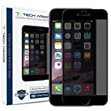 IPhone 6S Plus Screen Protector, Tech Armor Apple IPhone 6 Plus (5.5 Inch ONLY) Edge To Edge Privacy Ballistic...