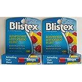 Blistex Raspberry Lemonade Blast With Spf 15 .15 Oz (2 Pack)
