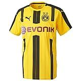 Puma Men's Replica Football with Sponsor Logo Borussia Dortmund Home, Men, Trikot BVB Home Replica Shirt with Sponsor Logo, Gelb (Cyber Yellow/Black)