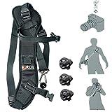 Gwalker Focus F1 Camera Strap Quick Rapid Shoulder Sling Belt Neck Strap For DSLR Camera(for Canon Nikon Sony...