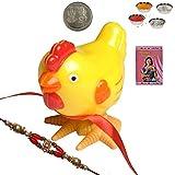 Indiangiftemporium Buy Cartoon Character Rakhi Gift For Kid Brother Rakhi Raksha Bandhan Gift Band Moli Bracelet...