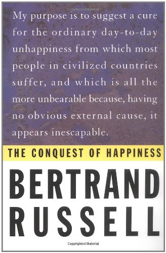 Bertrand Russell Conquest Of Happiness Pdf